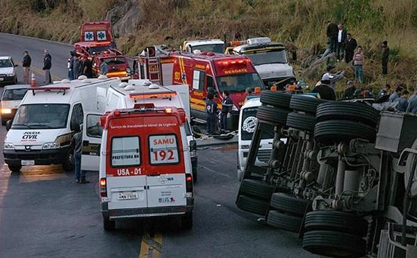 Brasil perde cerca de R$ 40 bi por ano com acidentes de trânsito