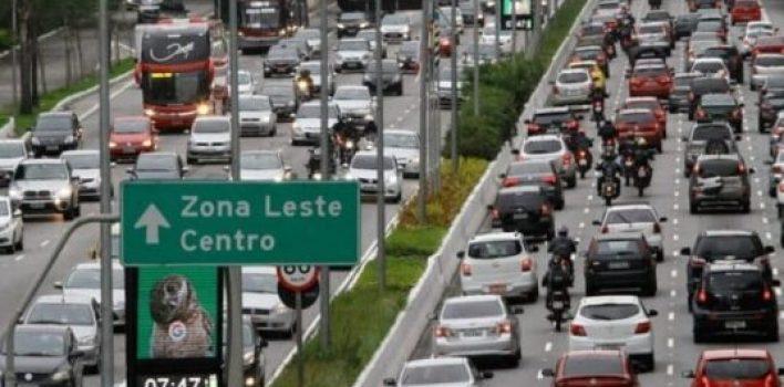São Paulo altera horário do rodízio de veículos na pandemia
