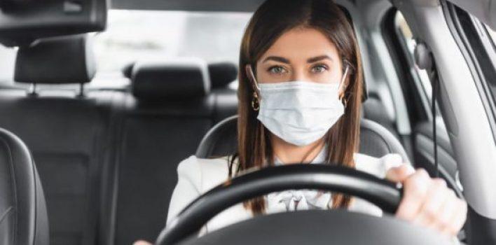 Portal esclarece: dirigir sem máscara não é infração de trânsito