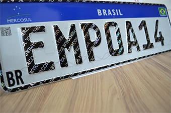Inconstitucionalidade das placas Mercosul será julgada pelo STF