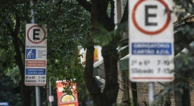 Prefeitura de SP suspende zona azul no entorno de unidades de saúde