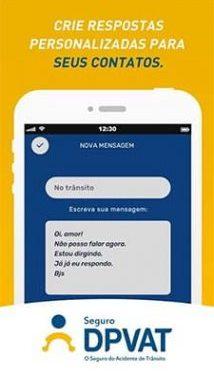 Seguro DPVAT lança aplicativo que bloqueia chamadas e mensagens enquanto usuário dirige