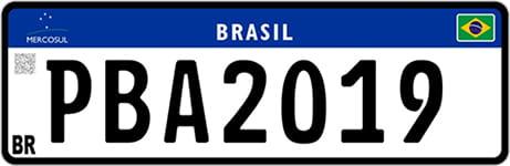 Mais um estado implanta o novo modelo de placas no padrão Mercosul